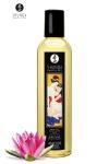 Huile de massage érotique - Coeur de lotus - Huile de massage érotique  Amour  au parfum coeur de lotus pour éveiller les sens et la réceptivité amoureuse, par Shunga.