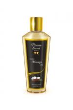 Huile sèche noix de coco : Huile de massage sèche au délicieux parfum de noix de coco pour des massages aussi relaxants que bons pour le corps.