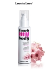 Fluide massage & lubrifiant - cerisier - A la fois un fluide de massage et un lubrifiant intime parfumé à la fleur de cerisier, par Love to Love.