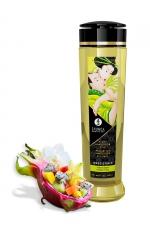 Huile de massage Fusion d'Asie - Shunga - Huile de massage érotique Irrésistible au parfum fusion d'Asie pour éveiller les sens et la réceptivité amoureuse, par Shunga.