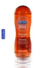 Durex Play massage Stimulating : Le gel de massage Durex avec du Guarana, idéal pour la stimulation!
