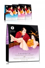 Sels de bain Lovebath - Shunga : Avec Lovebath, découvrez une expérience sensuelle du bain japonais.