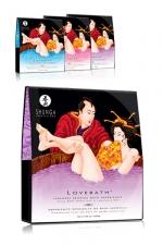 Sels de bain Lovebath - Shunga - Avec Lovebath, découvrez une expérience sensuelle du bain japonais.