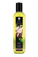 Huile Bio de massage érotique Organica - Huile de massage Erotique Bio Chocolat Enivrant ou Douceur d'amande, par Shunga.