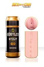 Sex In a Can - O'Doyle's Stout - Masturbrassée en Irlande pour vous guider votre plaisir vers les contrées interdites.