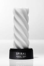 Tenga 3D Spiral - Oeuvre d'art et pur objet de plaisir, ce masturbateur en forme de spirale se love autour de la verge.