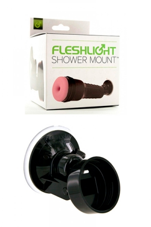 Shower Mount Fleshlight : Support de douche à ventouse Fleshlight Mount, pour se faire plaisir avec son masturbateur, sans les mains!