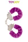 Menottes Fourrure Furry Fun - Menottes en métal recouvertes d'une fourrure colorée. Plusieurs couleurs Disponibles.