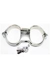 Menottes Turbo High Security - Menottes de poignets haute qualité et haute sécurité, en acier inoxydable.