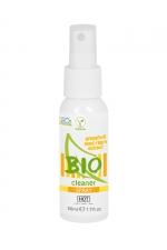 Spray nettoyant sextoys Bio 50ml -  HOT - Spray cleaner 100% biologique haute qualité aux extraits de pamplemousse pour nettoyer tous vos sextoys.