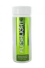 Poudre régénérante Fleshlight - FleshLight renewing powder pour entretenir et rénover votre masturbateur favori.