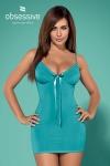 Nuisette blackardi turquoise - Nuisette en joli tissu bleu qui épousera vos formes pour plus d'élégance.