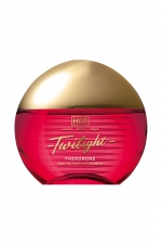 Parfum aux Phéromones Twilight Femme 15 ml - HOT - Parfum aphrodisiaque pour femme à base de phéromones offrant un pouvoir attractif irrésistible. Flacon de 15ml.