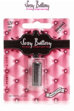 Sexy battery - Pile LR23 : 1 pile Sexy Battery de type LR23 pour faire fonctionner vos sextoys.
