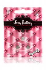 Sexy battery - Piles LR41 x3 - 3 piles Sexy Battery de type LR41 au lithium pour faire fonctionner vos sextoys.