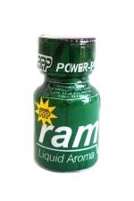 Poppers Ram 9ml - Le célèbre poppers Ram et son flacon vert! Un poppers puissant et pur à base d'isopropyle.