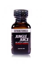 Poppers jungle juice black label 24ml - Le poppers Jungle Juice black original dans une nouvelle formule extrême, extra forte, à base de nitrite d'amyle.