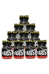 Pack 10 poppers Faust 9 ml - Pack de 10 Flacons de 9 ml de Poppers Faust, arôme liquide érotique à base de Nitrite de Pentyle.