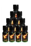Poppers Sexline  (pack de 10) - SexLine, votre poppers de référence en lot de 10 flacons à prix exceptionnel!