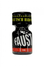 Poppers Faust 9 ml : Arôme liquide aphrodisiaque pour aromatiser votre pièce, à base de Nitrite de Penthyl.
