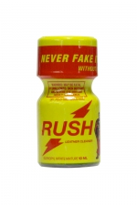 Poppers Rush 9 ml : Avec son flacon jaune, on le reconnait entre tous: Poppers Rush, exigez l'original!