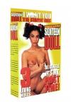 Poupée gonflable Sexteen Doll - Poupée taille 1m60 avec 3 orifices utilisables (bouche, vagin et anus) et visage peint.