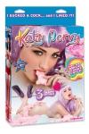 Poupée gonflable Katy Pervy - Profitez des charmes de Katy Pervy, une femme de rêve aux allures de superstar qui vous offre tous ses orifices.