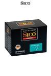 50 préservatifs Sico SPERMICIDE - 50 préservatifs haute qualité bénéficiant d'une protection supplémentaire grâce à un revêtement spermicide.