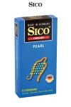 12 préservatifs Sico PEARL - 12 préservatifs haute qualité avec texture perlée pour une stimulation sexuelle maximale de votre partenaire.