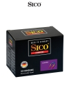 50 préservatifs Sico COLOUR