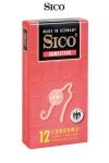 12 Préservatifs Sico SENSITIVE - 12 préservatifs extra fins pour des sensations au plus proche des relations naturelles.