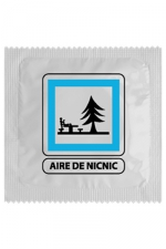 Préservatif humour - Aire De Nic Nic - Préservatif Aire De Nic Nic, un préservatif personnalisé humoristique de qualité, fabriqué en France, marque Callvin.