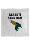 Préservatif humour - Garantie Sans Ogm - Préservatif