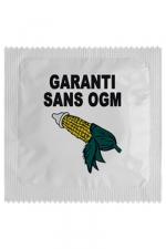 Préservatif humour - Garantie Sans Ogm - Préservatif Garantie Sans Ogm, un préservatif personnalisé humoristique de qualité, fabriqué en France, marque Callvin.