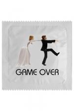 Préservatif humour - Game Over - Préservatif Game Over, un préservatif personnalisé humoristique de qualité, fabriqué en France, marque Callvin.