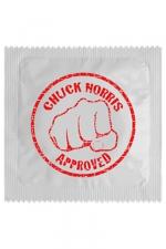 Préservatif humour - Chuck Norris - Préservatif Chuck Norris, un préservatif personnalisé humoristique de qualité, fabriqué en France, marque Callvin.