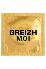 Préservatif humour - Breizh Moi - Préservatif Breizh Moi, un préservatif personnalisé humoristique de qualité, fabriqué en France, marque Callvin.