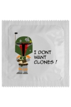 Préservatif humour - I Don't Want Clones - Préservatif