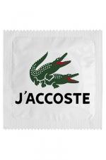Préservatif humour - J'accoste - Préservatif  J'accoste , un préservatif personnalisé humoristique de qualité, fabriqué en France, marque Callvin.