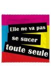 Préservatif humour - Se Sucer Toute Seule - Préservatif Se Sucer Toute Seule, un préservatif personnalisé humoristique de qualité, fabriqué en France, marque Callvin.