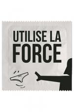 Préservatif humour - Utilise La Force - Préservatif Utilise La Force, un préservatif personnalisé humoristique de qualité, fabriqué en France, marque Callvin.