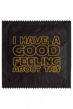 Préservatif humour - Good Feeling - Préservatif Good Feeling, un préservatif personnalisé humoristique de qualité, fabriqué en France, marque Callvin.