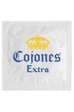 Préservatif humour - Cojones Extra - Préservatif Cojones Extra, un préservatif personnalisé humoristique de qualité, fabriqué en France, marque Callvin.
