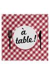 Préservatif humour - A Table - Préservatif