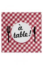 Préservatif humour - A Table - Préservatif A Table, un préservatif personnalisé humoristique de qualité, fabriqué en France, marque Callvin.