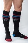 Chaussettes Mister B URBAN Gym noires - Chaussettes de sport haute qualité, by Mister B (version noire).