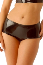 Mini short latex HotPants - Mini short moulant en latex haute qualité.