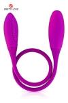Sextoy pour couple Snaky vibe - Un double dong vibrant aux 2 extrémités, long et flexible pour de multiples plaisirs en solo ou en couple.